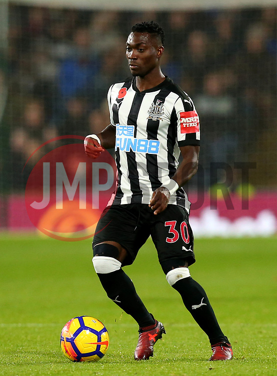 Christian Atsu of Newcastle United - Mandatory by-line: Robbie Stephenson/JMP - 30/10/2017 - FOOTBALL - Turf Moor - Burnley, England - Burnley v Newcastle United - Premier League