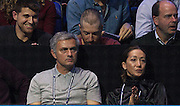Jose Mourinho during the Roger Federer vs Andy Murray match at the Barclays ATP World Tour Finals, O2 Arena, London, United Kingdom on 13th November 2014 © Phil Duncan | Pro Sports Images