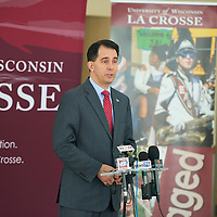 2016 Governor Walker UWL Visit / Bill Signing
