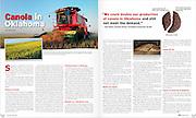Canola in Oklahoma story seen in January 2013 issue of Oklahoma Living Magazine