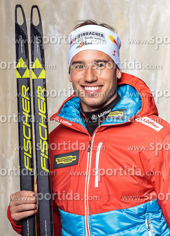 08.10.2016, Olympia Eisstadion, Innsbruck, AUT, OeSV Einkleidung Winterkollektion, Portraits 2016, im Bild Lorenz Wäger, Biathlon, Herren // during the Outfitting of the Ski Austria Winter Collection and official Portrait Photoshooting at the Olympia Eisstadion in Innsbruck, Austria on 2016/10/08. EXPA Pictures © 2016, PhotoCredit: EXPA/ JFK