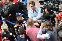 21.10.2010, Korea International Circuit, Yeongam, KOR, F1 Grandprix of Korea, im Bild ..Sebastian Vettel (GER), Red Bull Racing, EXPA Pictures © 2010, PhotoCredit: EXPA/ InsideFoto/ Hasan Bratic *** ATTENTION *** FOR AUSTRIA AND SLOVENIA USE ONLY!