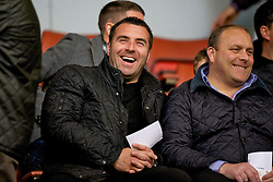 LIVERPOOL, ENGLAND - Thursday, May 5, 2011: Scout and former Everton player David Unsworth during the FA Premiership Reserves League (Northern Division) match at Anfield. (Photo by David Rawcliffe/Propaganda)