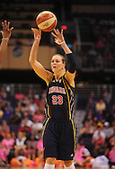 Aug 8, 2010; Phoenix, AZ, USA; Indiana Fever guard Katie Douglas puts up a basket during the first half at US Airways Center.  Mandatory Credit: Jennifer Stewart-US PRESSWIRE