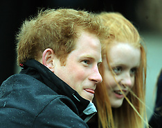 Christchurch-Prince Harry visits Student Army at University