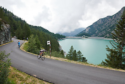 Leah Kirchmann (CAN) at Giro Rosa 2018 - Stage 7, a 15 km individual time trial from Lanzada to Alpe Gera di Campo Moro, Italy on July 12, 2018. Photo by Sean Robinson/velofocus.com