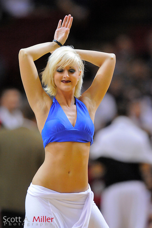 March 11, 2010; Orlando, FL, USA; The Orlando Magic dancers perorm during the second half of the Magic's 111-82 win over Chicago Bulls at Amway Arena.  ©2010 Scott A. Miller