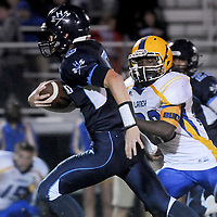 Hoggard High School hosted Laney in football Friday October 24, 2014. (Jason A. Frizzelle)