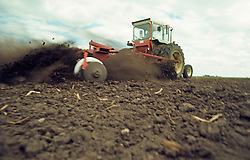 Tractor Tilling Soil Agriculture