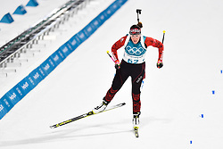 February 10, 2018 - Pyeongchang, South Korea - 180210 Lena Haecki of Switzerland competes in Women's Biathlon 7,5 km Sprint during day one of the 2018 Winter Olympics on February 10, 2018 in Pyeongchang..Photo: Petter Arvidson / BILDBYRN / kod PA / 87614 (Credit Image: © Petter Arvidson/Bildbyran via ZUMA Press)