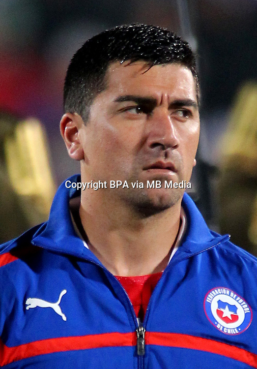 Football Fifa Brazil 2014 World Cup / <br /> Chile National Team - <br /> David Pizarro of Chile