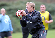 © Andrew Fosker / Seconds Left Images 2010 - Lewis Moody -  England Rugby Training - Pennyhill Park Hotel - 02/11/10 - Bagshot - UK - All Rights Reserved