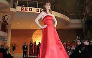Sabrina Baum on the runway during the Red Dress Extravaganza at the 2007 Wellness Connection Red Dress Gala, at the Schuster Performing Arts Center in Dayton, Saturday night, May 5th.