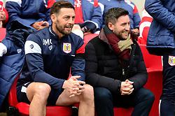 Lee Johnson with Jamie McAlistar  - Mandatory by-line: Dougie Allward/JMP - 10/02/2018 - FOOTBALL - Ashton Gate Stadium - Bristol, England - Bristol City v Sunderland - Sky Bet Championship