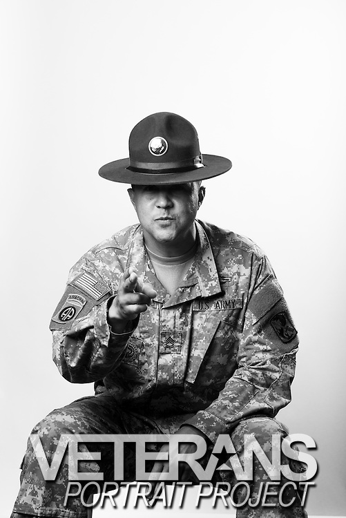 Nathaniel N. Newman<br /> Army<br /> Sergeant First Class<br /> Drill Sergeant, Infantry<br /> 17 Years of Service<br /> OIF, OEF<br /> <br /> Veterans Portrait Project<br /> Columbus, GA