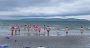 01/06/2014 Dip in the nip took place in Galway at dawn 5.15 on Silver Strand Bearna Galway.Photo:Andrew Downes