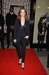 SAI BENNETT at the launch of the new Bulgari flagship store at 168 New Bond Street, London on 14th April 2016.