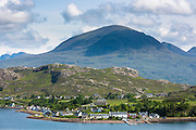 Shieldaig coastal town by Loch Torridon in the Ross and Cromarty region of the North West Highlands of Scotland