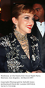 Madonna  at the Vanity Fair Oscar Night Party. Mortons. Los Angeles.  24 March 1997<br />