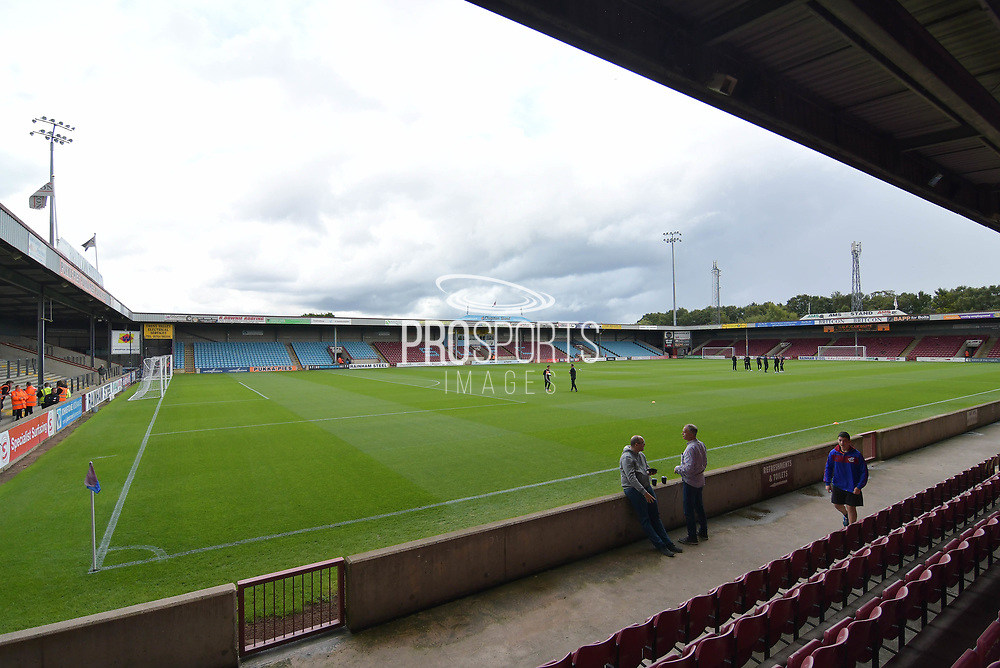 Scunthorpe United Glanford Park ground before the EFL Sky Bet League 1 match between Scunthorpe United and Blackpool at Glanford Park, Scunthorpe, England on 9 September 2017. Photo by Ian Lyall.