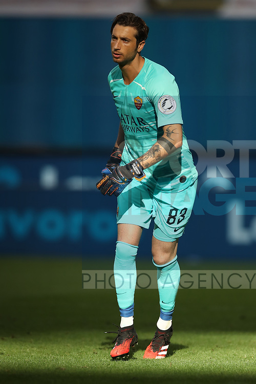 AS Roma's Italian goalkeeper Antonio Mirante during the Serie A match at Giuseppe Meazza, Milan. Picture date: 28th June 2020. Picture credit should read: Jonathan Moscrop/Sportimage