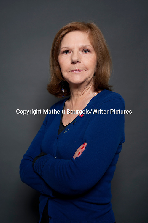 Francoise Hamel, French author<br /> <br /> Matheiu Bourgois/Writer Pictures<br /> contact +44 (0)20 822 41564<br /> info@writerpictures.com<br /> www.writerpictures.com