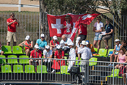 Swiss supporters<br /> Olympic Games Rio 2016<br /> © Hippo Foto - Dirk Caremans<br /> 17/08/16