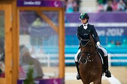 Melaranci Elisa (BRA) - Zabelle<br /> Team Test - Grade II - Dressage <br /> London 2012 Paralympic Games<br /> © Hippo Foto - Jon Stroud