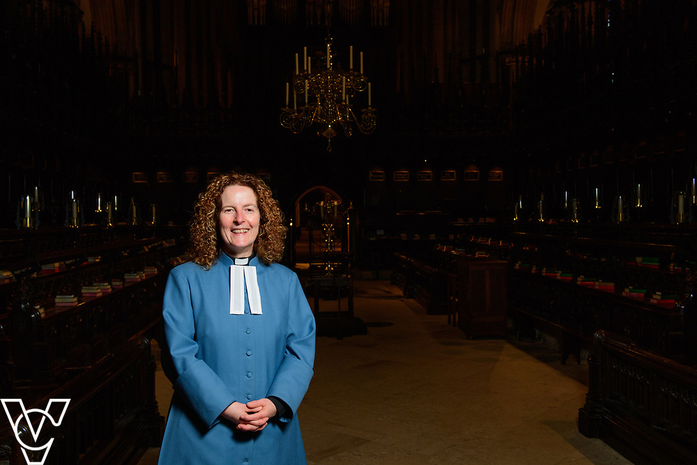 Revd Sal McDougall has been appointed the next Precentor of Lincoln Cathedral.<br /> <br /> Picture: Chris Vaughan Photography<br /> Date: March 20, 2017