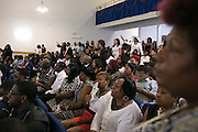 Several hundred attended the at the funeral for Jonah Barley at Outreach Temple Church in Rochester on Saturday, August 29, 2015. Barley was killed in a drive-by shooting on Genesee Street on August 19.