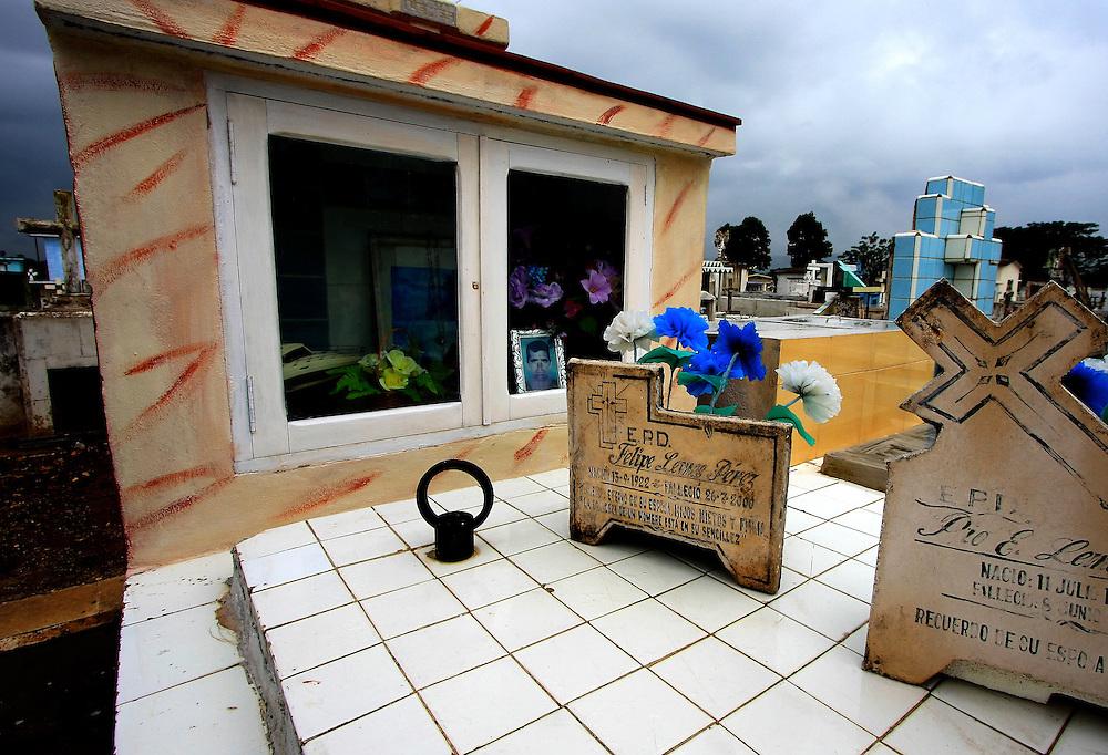 Cemetery in Camajuani, Villa Clara, Cuba.