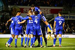 Alfie Kilgour of Bristol Rovers celebrates scoring a goal with team mates - Mandatory by-line: Dougie Allward/JMP - 07/12/2019 - FOOTBALL - Memorial Stadium - Bristol, England - Bristol Rovers v Southend United - Sky Bet League One