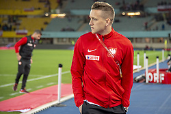 March 21, 2019 - Vienna, Austria - Piotr Zielinski of Poland during the UEFA European Qualifiers 2020 match between Austria and Poland at Ernst Happel Stadium in Vienna, Austria on March 21, 2019  (Credit Image: © Andrew Surma/NurPhoto via ZUMA Press)