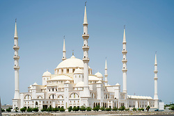 New Sheikh Zayed Mosque under construction in Fujairah United Arab Emirates