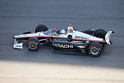 April 30, 2018 - Indianapolis, IN, U.S. - INDIANAPOLIS, IN - APRIL 30: Josef Newgarden (1) testing the new IndyCar windscreen during an Open Test on April 30, 2018, at the Indianapolis Motor Speedway in Indianapolis, IN. (Photo by James Black/Icon Sportswire) (Credit Image: © James Black/Icon SMI via ZUMA Press)
