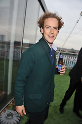 TOM INSKIP at Inception Group's Hamptons Garden Party to celebrate their collaboration with Embassy Gardens 2016 held at the Ballymore Marketing Suite, Nine Elms Lane, London on 12th July 2012.