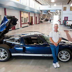 Steve Gurley and his Ford GT