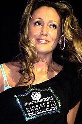 Kelly Llorenna takes part in the Sheffield Sincere Support Charity Show at Sheffield City Hall<br /> image copyright Paul David Drabble<br /> <br /> 8th March 2004