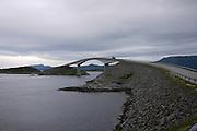 Molde, Møre og Romsdal county, Norway bridge on Atlantic road