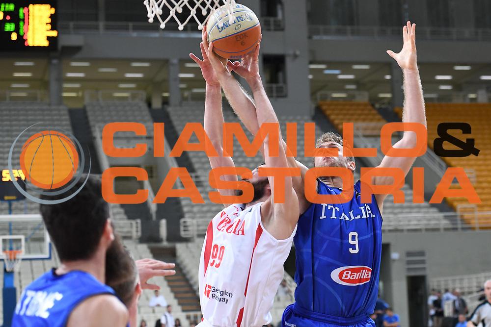 Nicolo Melli<br /> Nazionale Italiana Maschile Senior<br /> Torneo dell Acropolis<br /> Italia Georgia Italy Georgia<br /> FIP 2017<br /> Atene, 25/08/2017<br /> Foto M.Ceretti / Ciamillo - Castoria