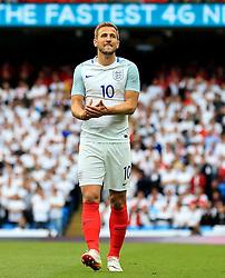 England's Harry Kane reacts after missing a chance - Mandatory byline: Matt McNulty/JMP - 07966386802 - 22/05/2016 - FOOTBALL - Etihad Stadium -Manchester,England - England v Turkey - International Friendly