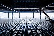 Commercial building waiting on concrete