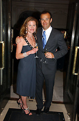 JEREMY & ERIN MORRIS at a party to celebrate the re-opening of the David Morris Flagship store at 180 New Bond Street, London on 14th June 2006.<br /><br />NON EXCLUSIVE - WORLD RIGHTS