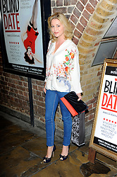 Nicola Stapleton during Blind Date - press night, Charing Cross Theatre,  London, United Kingdom, 04 June 2013. Photo by Chris Joseph / i-Images.