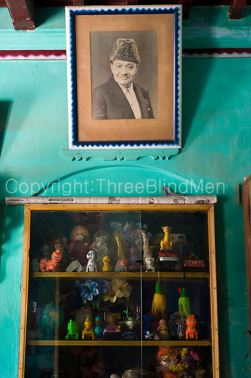 Interior of a home in Nagore. South India.<br /> Meah Street.