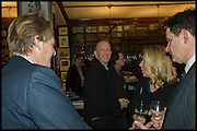 , SIMON SEBAG MONTEFIOREBook party for 'The Liar's Ball' by Vicky Ward hosted by  Sir Evelyn  de Rothschild at Henry Sotheran's, 2 Sackville Street London. 25 November 2014