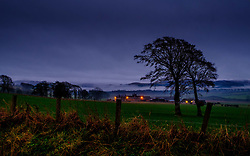 Low cloud hanging over the Clyde Valley in South Lanarkshire, Scotland<br /> <br /> (c) Andrew Wilson | Edinburgh Elite media