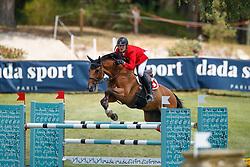 Schmitz Edouard, SUI, Cortino<br /> European Championship Children, Juniors, Young Riders - Fontainebleau 1028<br /> © Hippo Foto - Dirk Caremans<br /> Schmitz Edouard, SUI, Cortino