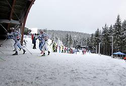 31.12.2011, DKB-Ski-ARENA, Oberhof, GER, Viessmann Tour de Ski 2011, FIS Langlauf Weltcup, Verfolgung Herren, im Bild Athleten im Anstieg // during men's pursuitof Viessmann Tour de Ski 2011 FIS World Cup Cross Country at DKB-SKI-Arena Oberhof, Germany on 2011/12/31. EXPA Pictures © 2011, PhotoCredit: EXPA/ nph/ Hessland..***** ATTENTION - OUT OF GER, CRO *****