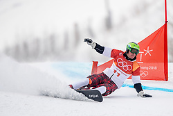24-02-2018 KOR: Olympic Games day 15, PyeongChang<br /> Parallel Giant Slalom / Rok Marguc SLO